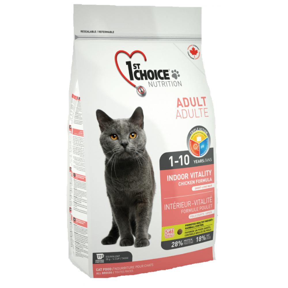1st Choice Vitality Indoor для домашних кошек