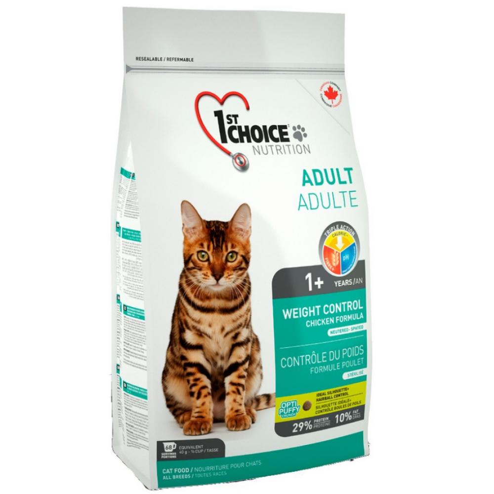 1st Choice Weight Control контроль веса для стерилизованных кошек и котов