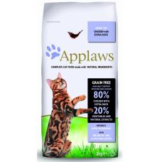 Applaws беззерновой для взр. кошек с курицей и уткой