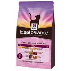 Hills Ideal Balance для взр. кошек с курицей