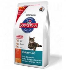 Hill's Indoor для домашних кошек, контроль веса,вывод шерсти