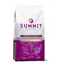 Summit Original 3 Meat, Indoor Cat Recipe CF Для котят и кошек три вида мяса с цыпленком, лососем и индейкой