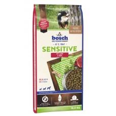 Bosch Sensitive Lamb & Rice для собак с чувствительным пищеварением