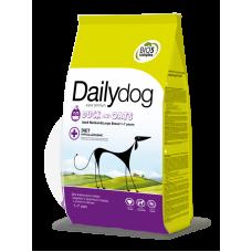 DailyDog ADULT MEDIUM LARGE BREED Duck and Oats для собак крупных и средних пород