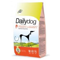 DailyDog Adult Medium&Large breed Turkey and barley для взр. собак средних и крупных пород
