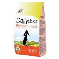 DailyDog Puppy Medium Breed Turkey and Rice для щенков средних пород