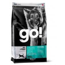 GO! беззерновой для Взрослых собак - 4 вида мяса: Индейка, Курица, Лосось, Утка