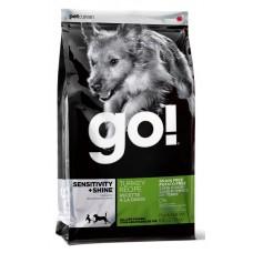 GO! беззерновой для щенков и собак с индейкой для чувств. пищеварения