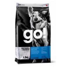 GO! для щенков и собак с цельной курицей, фруктами и овощами