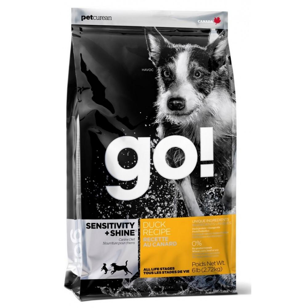 GO! для щенков и собак с цельной уткой и овсянкой