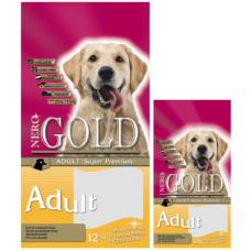 Nero Gold Adult для взрослых собак: Курица и рис
