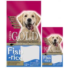 Nero Gold Fish&Rice 24/13 для взр. собак рыбный коктейль