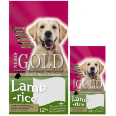 Nero Gold Adult Lamb&Rice 23/10 для взр. собак с ягненком и рисом