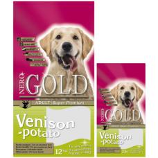 Nero Gold Venison&Potato 20/10 для взр. собак c олениной и картофелем