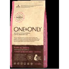 ONE&ONLY Turkey & Rice PUPPY All Breeds для щенков всех пород (индейка)
