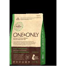 ONE&ONLY Turkey & Rice Adult MINI Breeds Индейка с рисом для малых пород