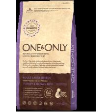 ONE&ONLY Turkey & Rice Adult Large Breeds для взрослых собак крупных пород
