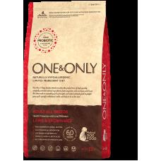 ONE&ONLY Lamb & Rice Adult All Breeds для взрослых собак с ягненком