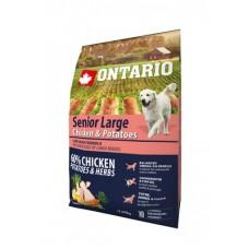 Ontario (Онтарио) Senior Large Chicken & Potatoes для пожилых, крупных