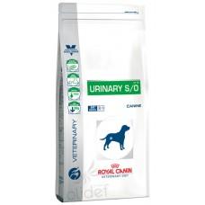 Royal Canin Urinary S/O для собак при мочекамен. болезни, струвиты, оксалаты