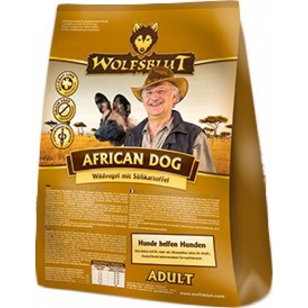 Wolfsblut African Dog Adult (Африканский Собака) для взрослых собак, гипоаллергенный
