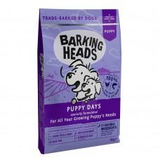 """Barking Heads Puppy Days New Grain Free Recipe BPY - Беззерновой корм для щенков с лососем и курицей  """"Щенячьи деньки""""."""