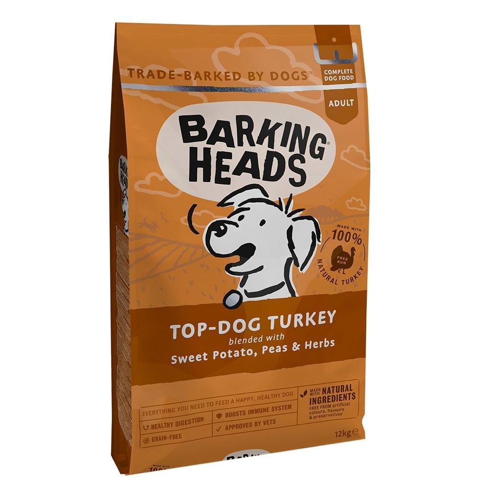 BARKING HEADS TOP DOG TURKEY Бесподобная Индейка беззерновой
