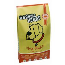 BARKING HEADS «Цыпленок для большелапого» - для взрослых собак крупных пород (Цыпленок&Рис)