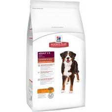 Hill's Science Plan Canine Adult Advanced Fitness Large Breed with Chicken для взрослых собак крупных пород, с курицей