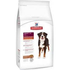 Hill's Science Plan Canine Adult Advanced Fitness Large Breed Lamb&Rice для взрослых собак крупных пород, с ягненком и рисом