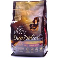 Pro Plan Duo Delice Для собак мелких пород с курицей и рисом