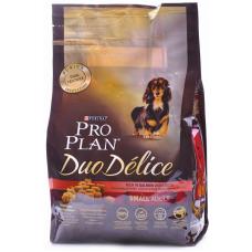 Pro Plan Duo Delice Для собак мелких пород с лососем и рисом
