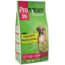 ProNature 26 для щенков всех пород