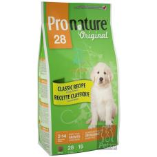 Pronature 28 для щенков крупных пород